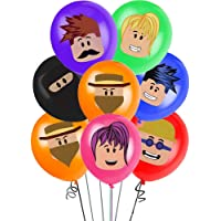 """35pcs Roblox party supplier Balloons set 12"""" Latex Balloons Kids Baby Shower Game Theme Birthday Party Decorations"""