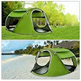 4-5Person Instant Pop-Up Tent - Automatic Setup in Seconds - Easy Fold Up - Great Family Outdoor Camping Tents Shelters