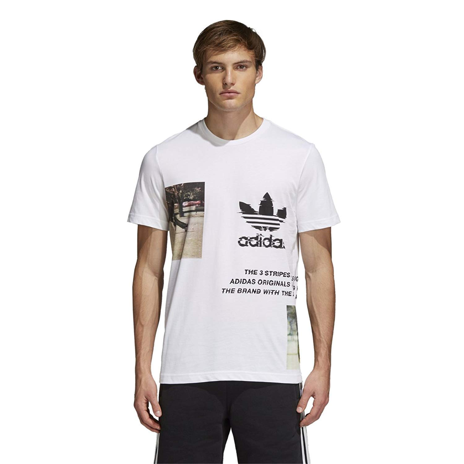 1fc54e971c81e adidas Men's Originals Traction Tee: Amazon.co.uk: Clothing