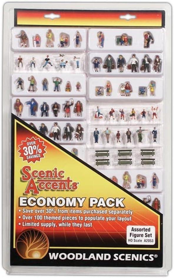 B000BLBQPQ Woodland Scenics A2053 HO Assorted Figure Economy Set 61rDx9si0CL.SL1000_