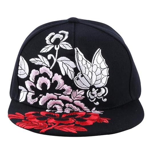 Zhjbqm Gorra de béisbol Mujer Hip Hop Gorra Sombrero Casual ...
