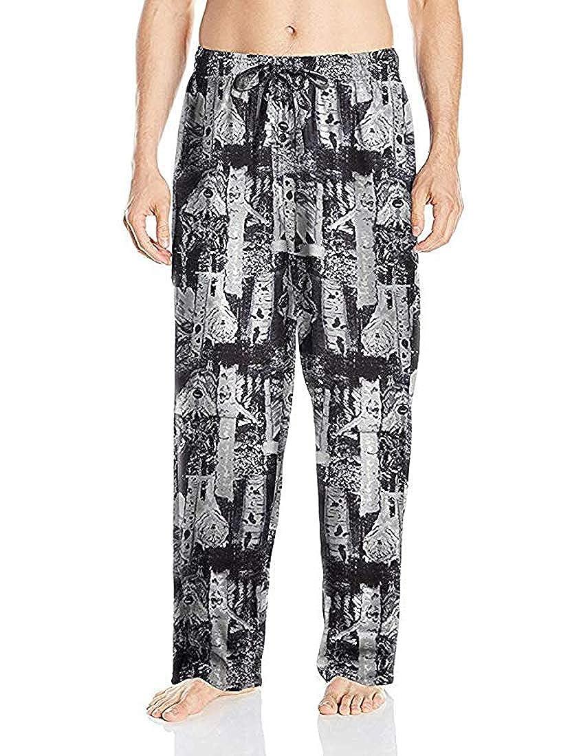 Fruit of the Loom Mens Yarn-dye Woven Flannel Pajama Pant
