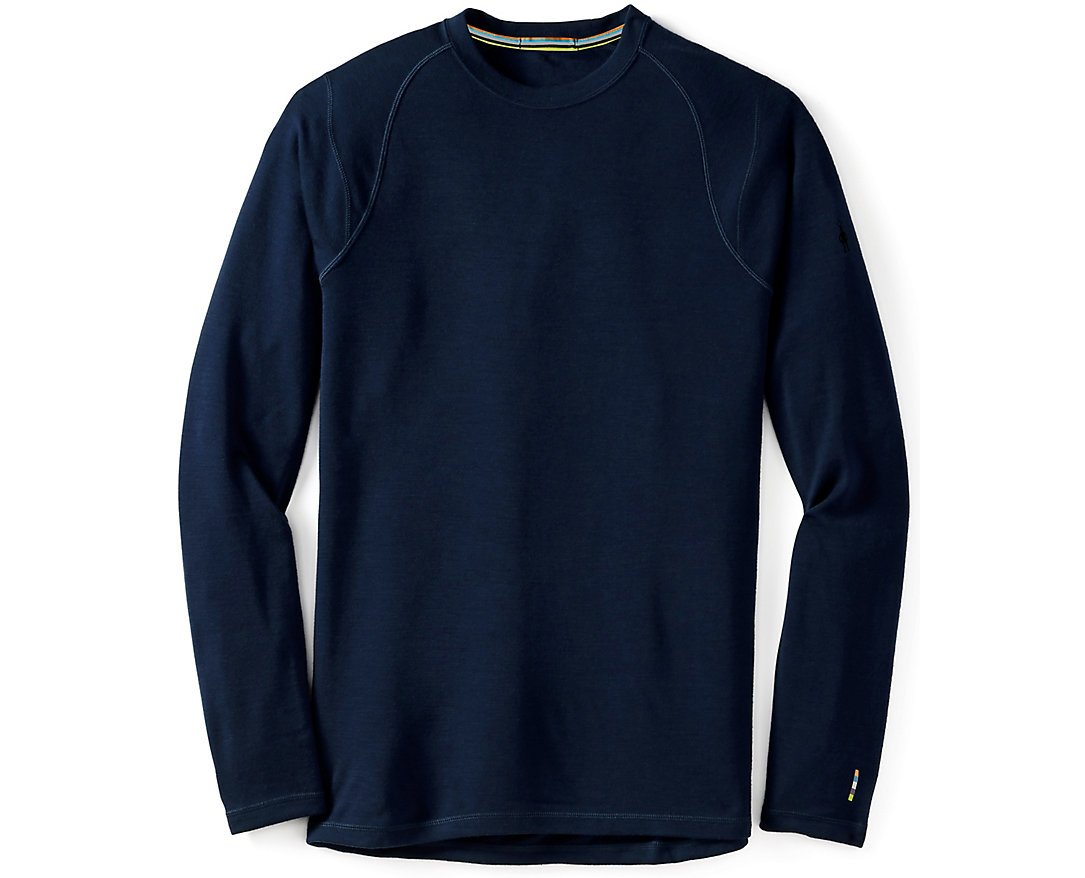 SmartWool Men's NTS Mid 250 Crew Top, Deep Navy MD by SmartWool (Image #1)