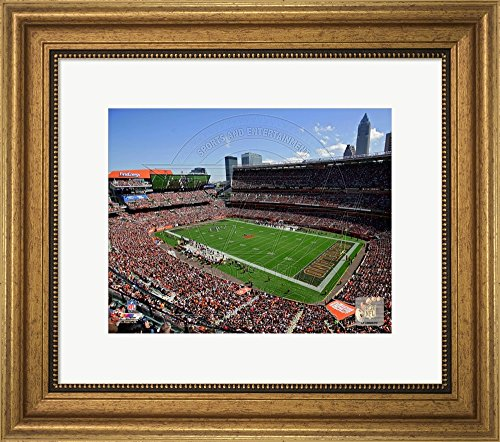 firstenergy-stadium-2014-framed-art-print-wall-picture-wide-gold-frame-17-x-15-inches