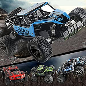 High Speed RC Racing Car,Hemlock Kids Remote Control Truck Off-Road Buggy Toys 4WD Car Toys (Green-1)