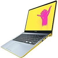 ASUS VivoBook S15 S530FA-EJ201T 15.6 Inch Full HD NanoEdge Laptop - (Grey/Yellow) (Intel i5-8265 Processor, 256 GB SSD, 8 GB RAM, Windows 10)