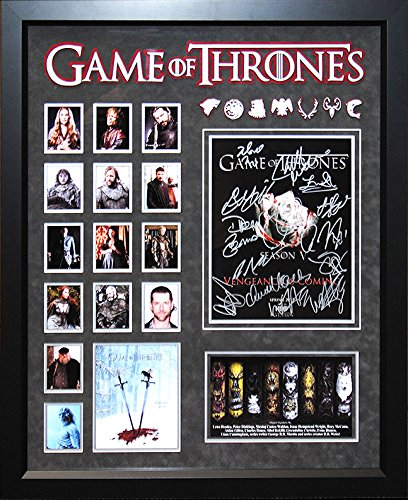 Game of Thrones - Cast Signed 11x14 Collage