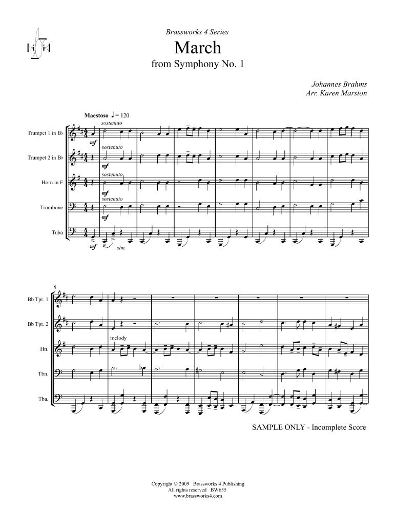 Download March from Symphony No. 1 pdf epub