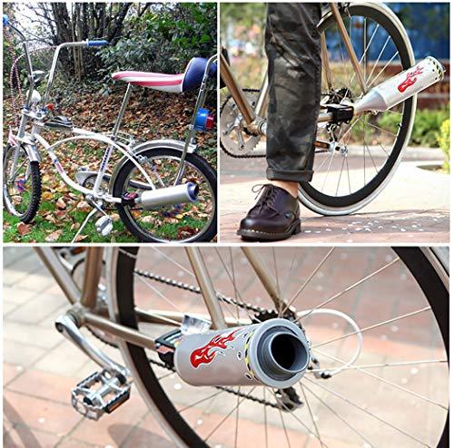 Buy bicycle plastic muffler exhaust