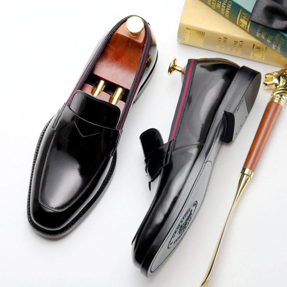Los Zapatos De Negocios De Los Hombres De Visten Los Zapatos Ocasionales De La Moda De Inglaterra De Los J/óvenes