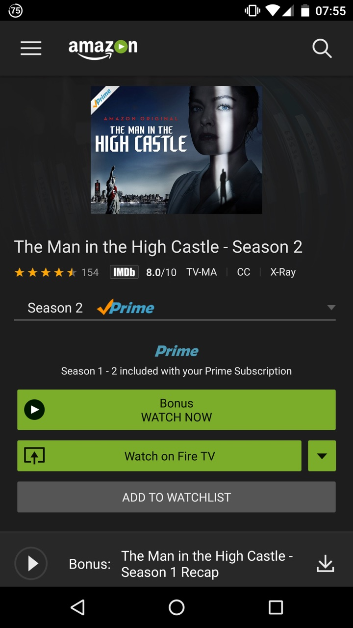 Amazon Prime Video: Amazon.es: Appstore para Android
