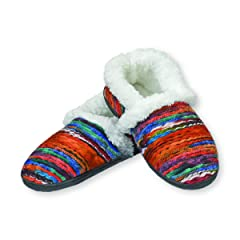 ab17d7390db Snoozies Womens Artisan Indoor Outdoor Cushioned Hard Sole Slippers -  Casual Women s Shoes