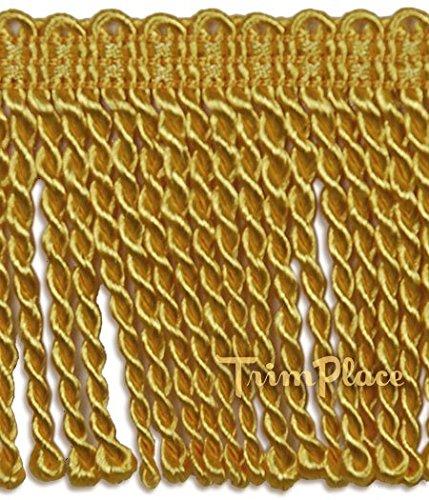 ANTIQUE GOLD 3 INCH BULLION FRINGE 11 (Gold Bullion Fringe)