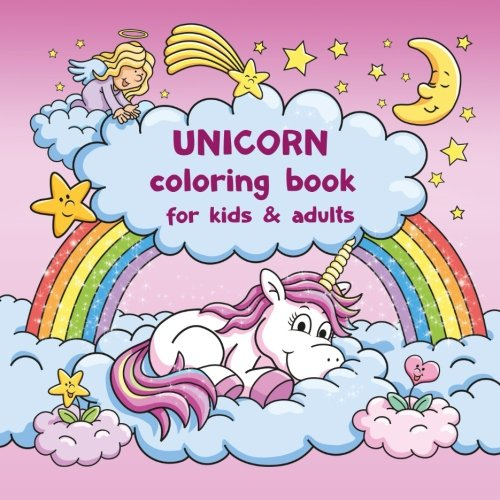 Unicorn coloring book for kids and adults + BONUS free Unicorn coloring pages (PDF to print)