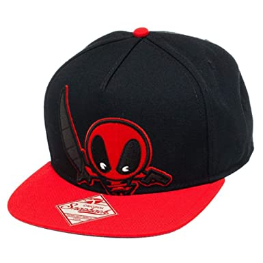 Image Unavailable. Image not available for. Color  Mavel Kawaii - Deadpool  Snapback Hat ... 81f7509978e6