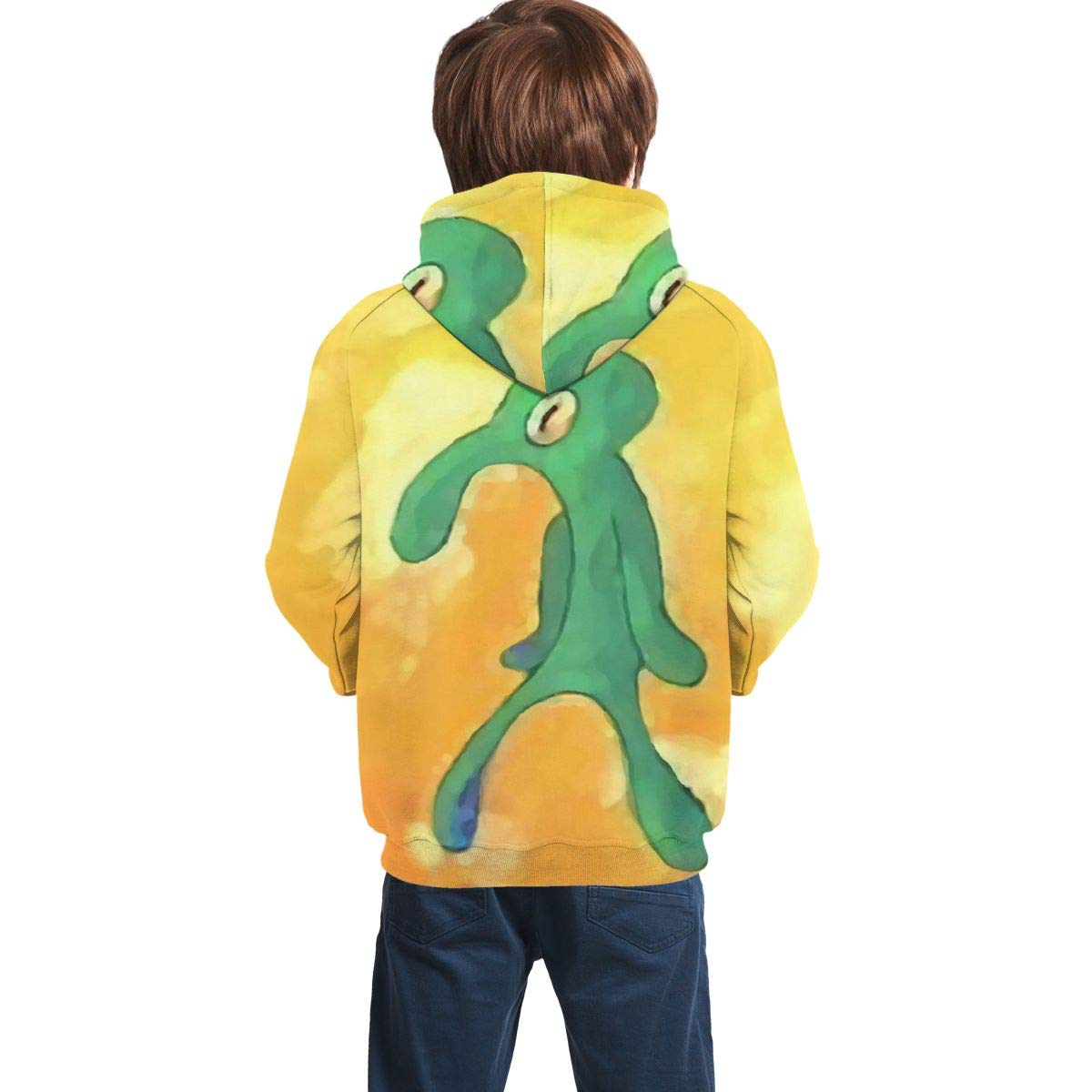 Cccccccocccc Old Bold and Brash Squidward Teen Boys//Girls 3D Print Casual Pullover Hoodies