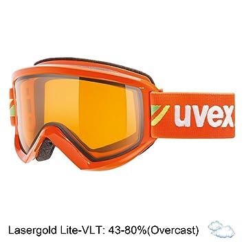 982b9e77636509 UVEX lunettes de ski Fire Race Mixte Orange  Amazon.fr  Sports et ...