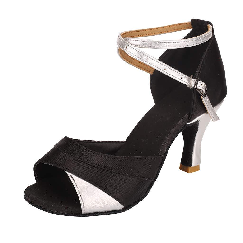 [SamMoSon] レディース sandals 01254 B07MTK4Q57 シルバー 37 M EU