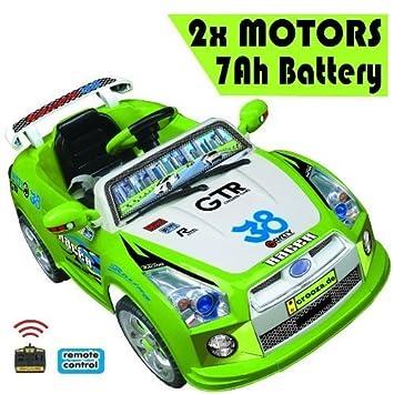 crooza gtr rally coche con motor y batera de coches para nios