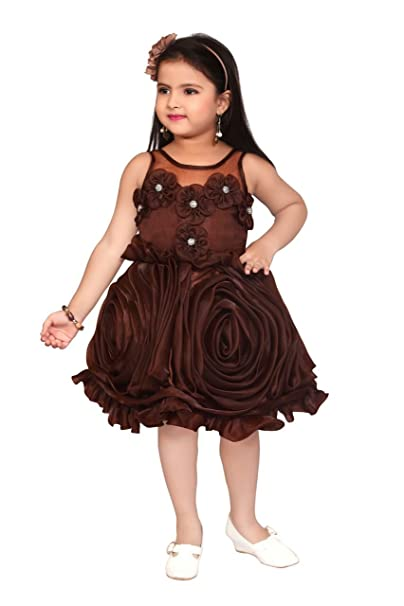 8a33c0d57 Apna Baby Kids Party Dress Frock for Kids for Girls Multicolour ...