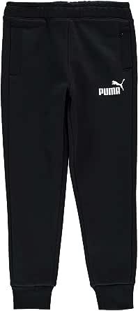 PUMA Pantalones de chándal de forro polar para niño con cordón