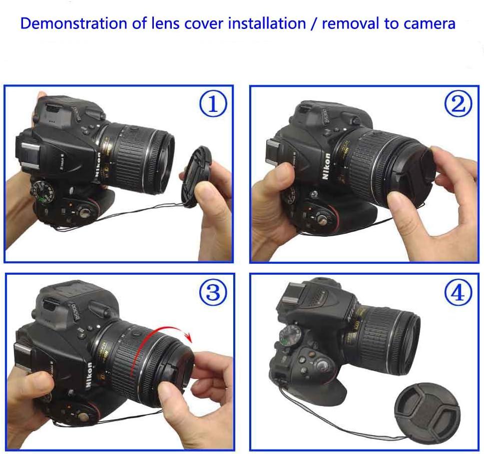 KOMET Objektivdeckel 46 mm 2 St/ück 25 mm F1.7 ASPH-Objektiv f/ür Panasonic Lumix G G9 G8 G7 GX7 GX9 Kit Lumix G Vario 14-42 mm Vario PZ 45-175 mm