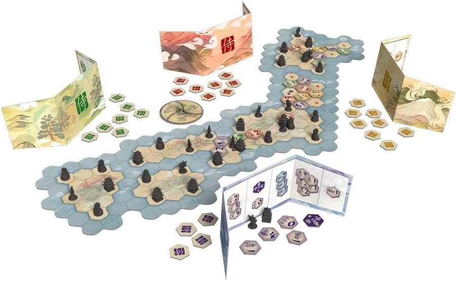 Samurai Board Game: Fantasy Flight Games: Amazon.es: Juguetes y juegos