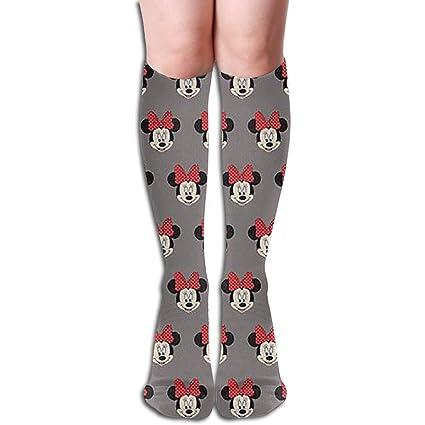 e67bea5b4a3 Amazon.com  LSKDISH Cotton Crew Socks Cute Funny Sock Over-The-Calf ...