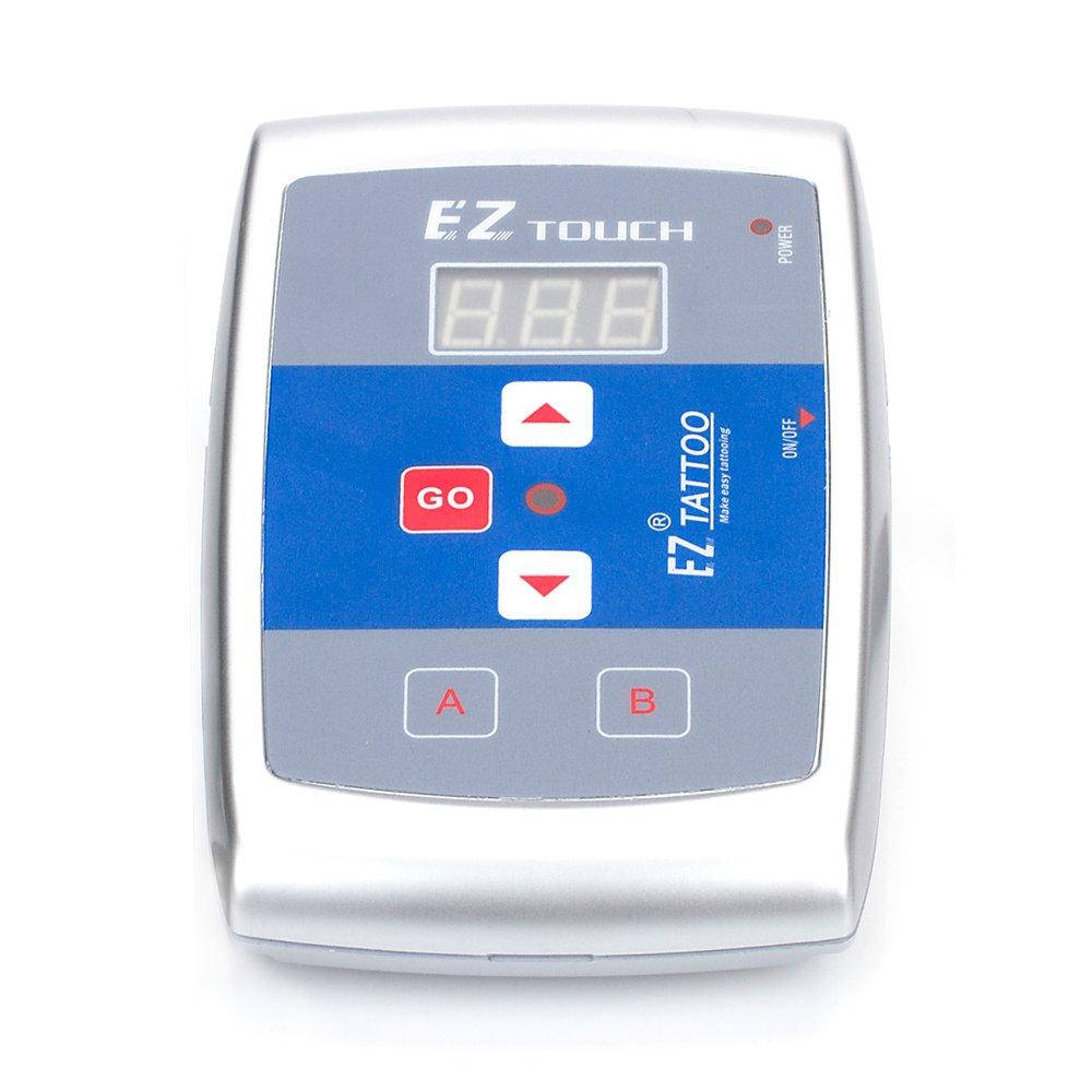 EZTAT2 Premium Tattoo Power Supply Digital Display Screen for EZ Cartridge Machine Power Supply by EZTAT2