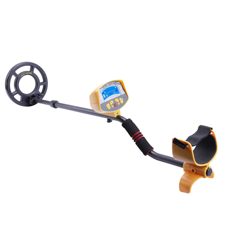 NCElec Underwater Metal Detector for Kids Adults,High Accuracy Waterproof Hand Held Gold Digger Metal Detector for Beach,Treasure Hunter Metal Finder