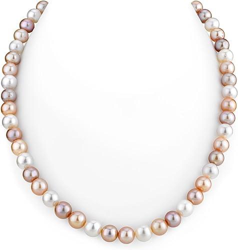 blanc perle de culture collier 60 cm 7-8 mm