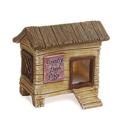 Mg202 Chicken Coop Fairy Garden: Toys & Games