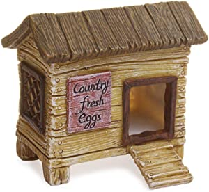 Woodland Knolls Mg202 Chicken Coop Fairy Garden