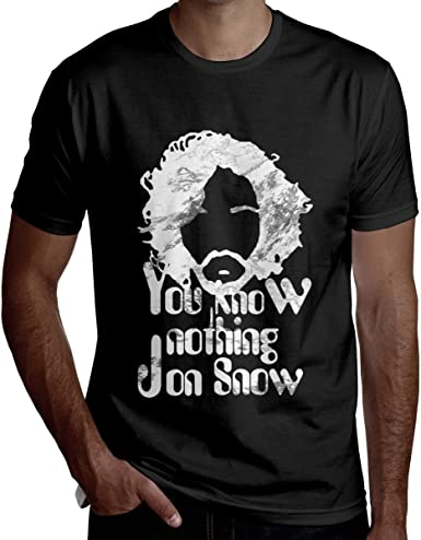 Camiseta Retro Vintage de Hombre de Jon-Snow Game You Know Nothing: Amazon.es: Ropa y accesorios