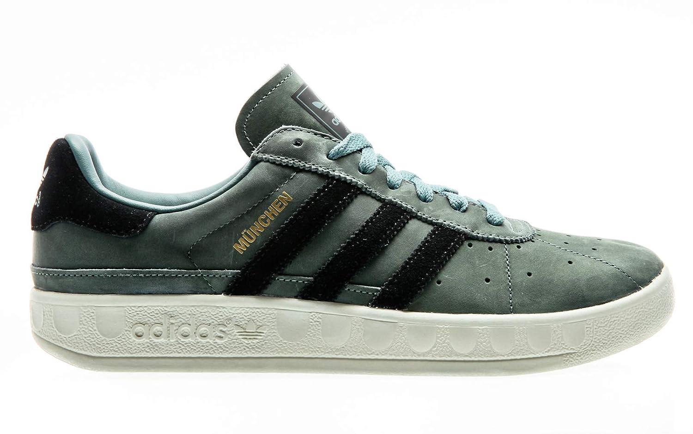 49e99e36b239b adidas Originals Munchen PU, raw Green-core Black-Cream White, 6 ...