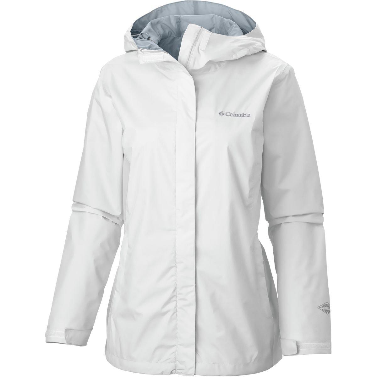 Columbia Women's Arcadia Ii Jacket Outerwear, White, White, M