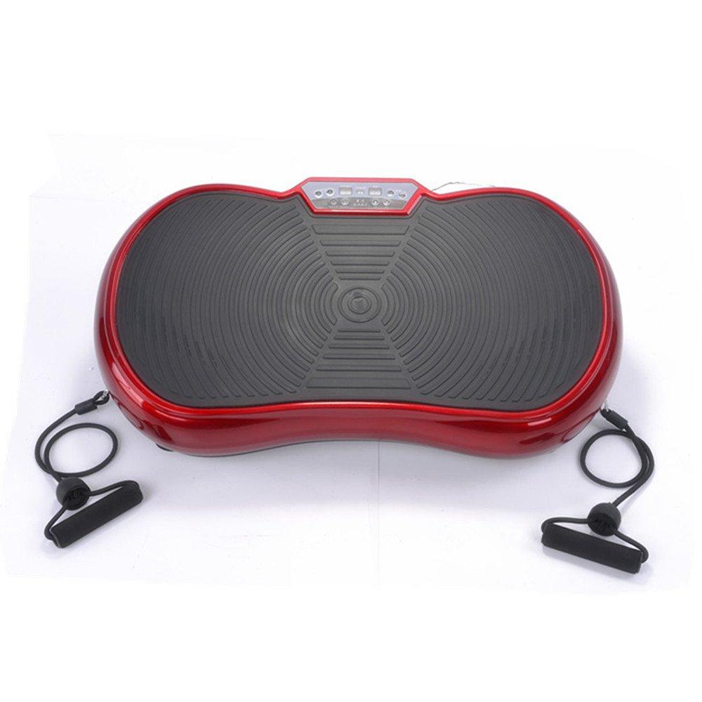 Panan Haus Vibrationsplatte VP200, Profi Vibrationsgerät mit Power Dehnbänder + Fernbedienung + 3D-Vibration - 150 kg