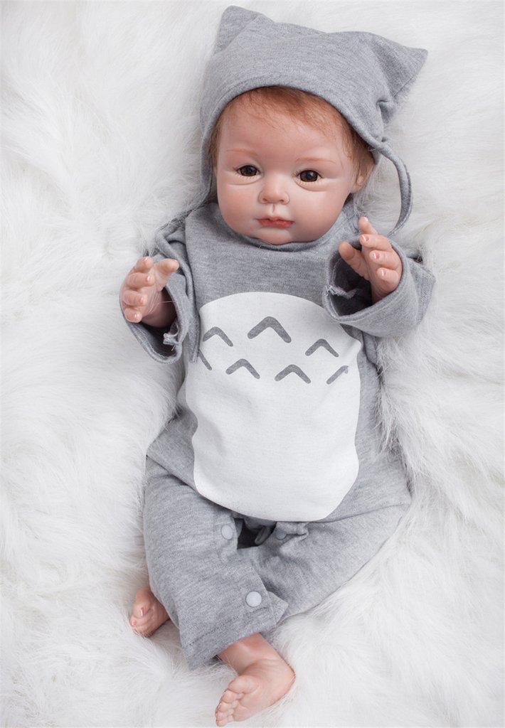 Terabithia 22 Pulgadas Alive Sweet Dreamer Recién Nacido Bebé Niña Muñecas