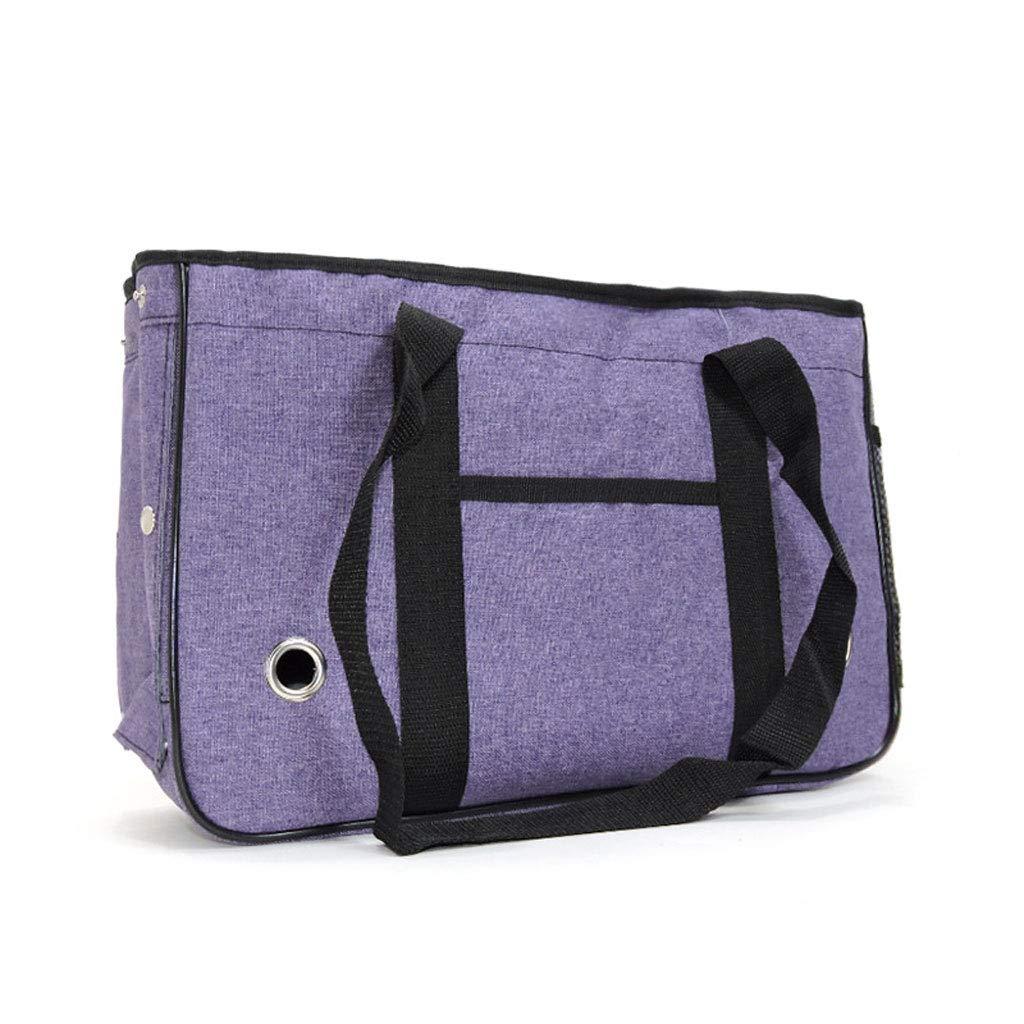 D Pet Supplies, Portable Dog Cat Handbag Outdoor Soft Pet Shoulder Bag Foldable Travel Handbag, Kitten and Dog Pet Bracket,D
