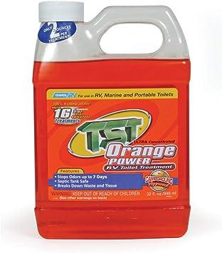 Amazon Com Camco 41192 Tst Orange Holding Tank Chemical 32 Oz Automotive