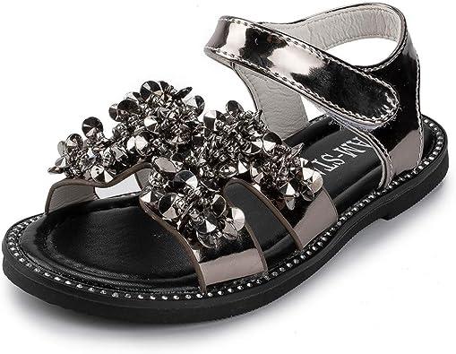 KIDSUN Toddler Kids Girls Sandals Flats