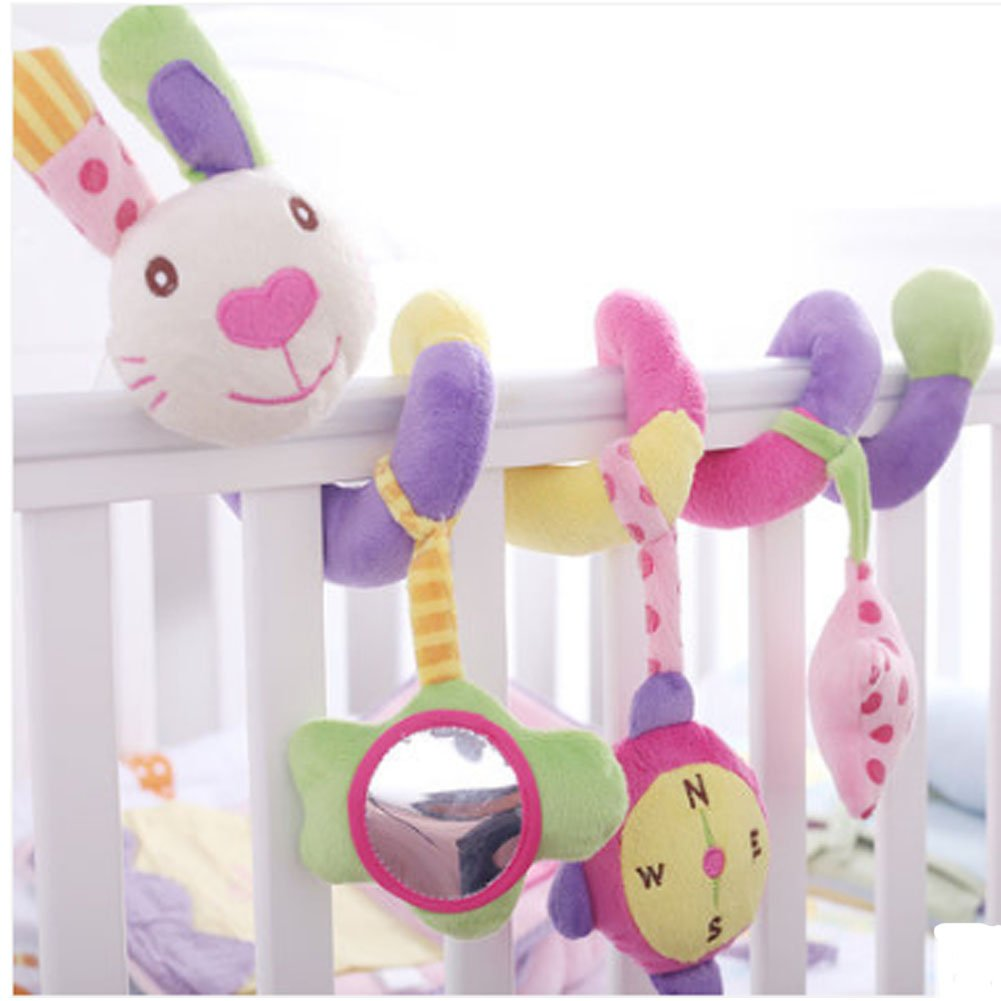 Colorful Rabbit Baby Toy & Bed Hanging & Cribs Decors Panda Superstore