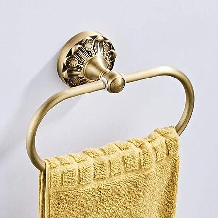 F Fityle Vintage Handtuchring Handtuchhalter aus Messing
