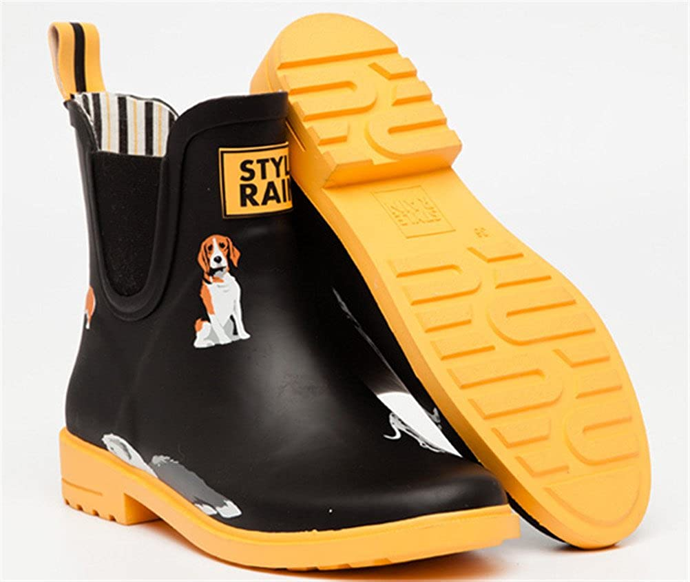 ACE SHOCK Rain Boots Women High-top Casual Cute Waterproof Rain Footwear Antiskid