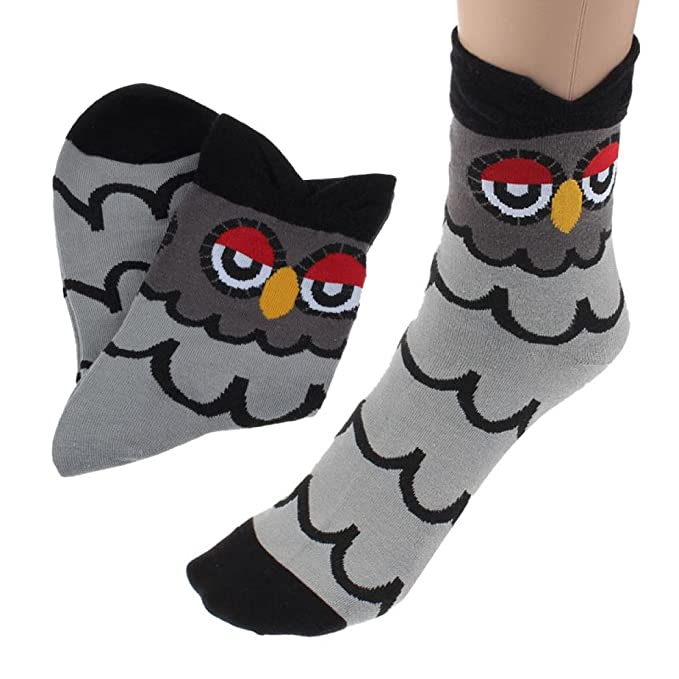 Tonsee® Calcetines modernos y exclusivos para mujer o niña, diseño