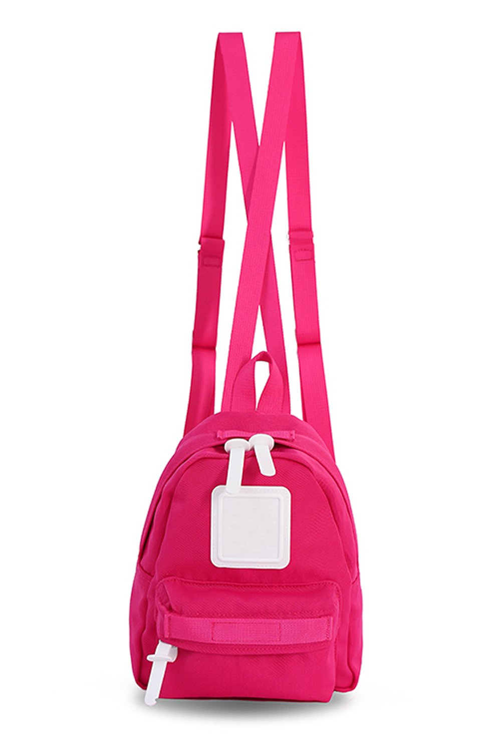 Mini Backpack For Women, Girls, Toddlers, ; Popular as a Purse, Diaper Bag, Miniature IPad or Daypack - Hot Pink