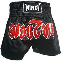 TOPTIE Kickboxing Muay Thai MMA Training Shorts, Boxing Trunks