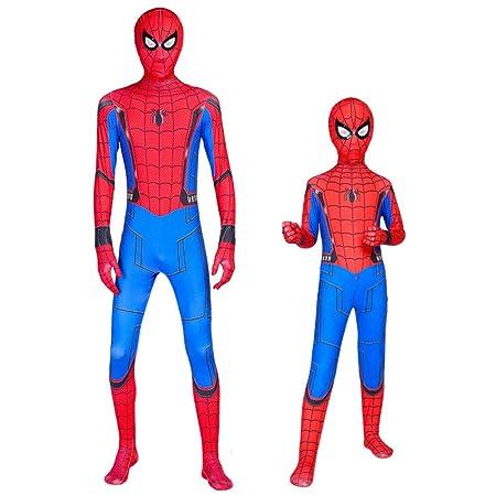 ZHANGQI Spiderman Tights Kids/Adult Heroes Volver Halloween ...