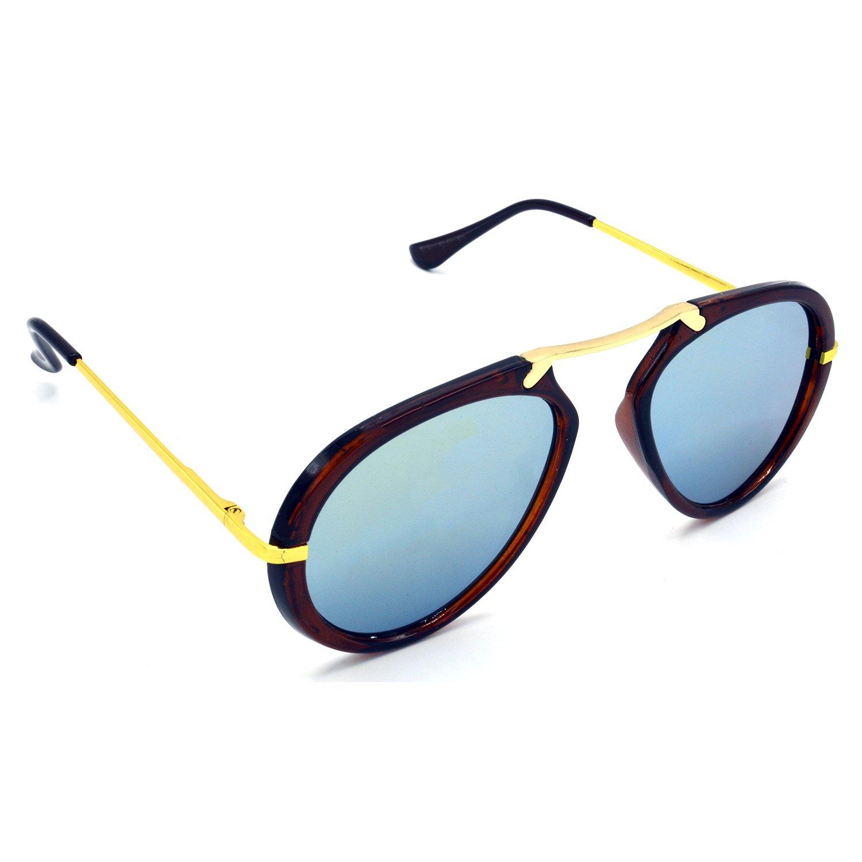 HRS427-RD-SLVR HRINKAR Silver Wrap Around Sunglasses
