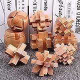 Yoki Home 益智玩具 成人智力扣解锁 (孔明锁+井子锁+本色十五通) 3个装 儿童礼物 小学生孔明锁 鲁班锁 开发大脑 放松身心 休闲娱乐